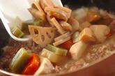 お煮しめの和風カレーライスの作り方3
