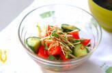 トマトの夏サラダ