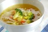 ブロッコリーのスープ煮