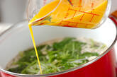 ミツバのかきたま汁の作り方5