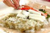 ホウレン草の巻き寿司の作り方5