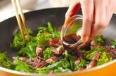 ホタルイカの甘辛炒めの作り方4
