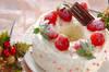 バウムクーヘンケーキの作り方の手順