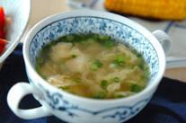 シンプル卵スープ