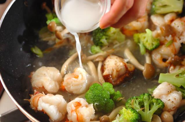 プリプリエビの中華炒めの作り方の手順10