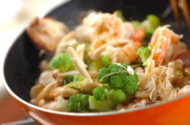 プリプリエビの中華炒めの作り方の手順9