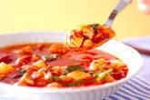 豚肉・トマト味のスープの作り方4