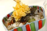 刻みウナギの混ぜ寿司の作り方4