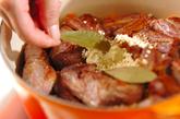 レンズ豆と骨付き豚バラ肉のスープ煮の作り方3