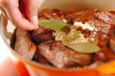 レンズ豆と骨付き豚バラ肉のスープ煮の作り方8