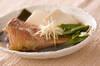 赤魚の煮物の作り方の手順