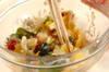海藻と白菜のサラダの作り方の手順4