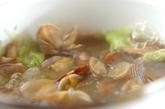 アサリと白菜の中華スープの作り方2