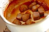 マグロのショウガ角煮の作り方1