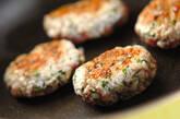 カロリーオフお魚ハンバーグの作り方7