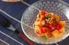 長芋とオクラのカッペリーニ