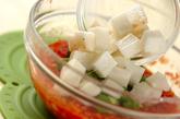 長芋とオクラのカッペリーニの作り方2