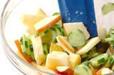 キュウリのサラダの作り方5