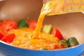 ツナとトマトの卵炒めの作り方3