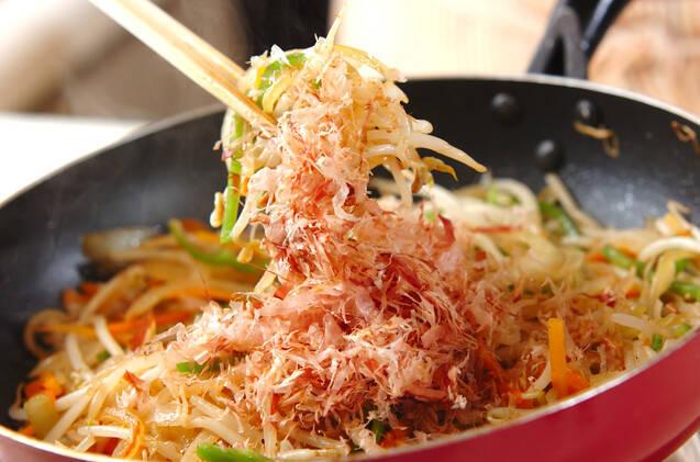 モヤシ炒めの作り方の手順6
