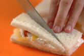 ツリーフルーツサンドの作り方3