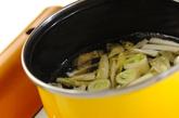 豆腐と白菜のみそ汁の作り方1