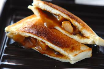 簡単焼きカレーパン
