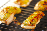 白身魚のネギみそ焼きの作り方2