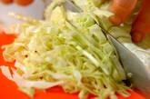 春キャベツのスープの下準備1