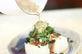 キムチ豆腐サラダの作り方4