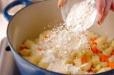 ミートボールクリーム煮の作り方2