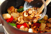 豚肉のカシューナッツ炒めの作り方7