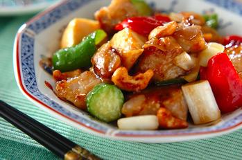 豚肉のカシューナッツ炒め
