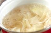 具沢山のショウガ風味みそ汁の作り方2