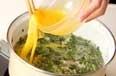 豆苗の卵汁の作り方3
