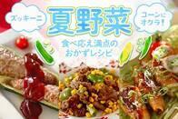 夏野菜食べ応え満点レシピ