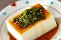 豆腐のニラダレ