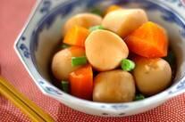 冷凍里芋の煮っころがし