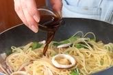 イカと小松菜スパゲティの作り方4
