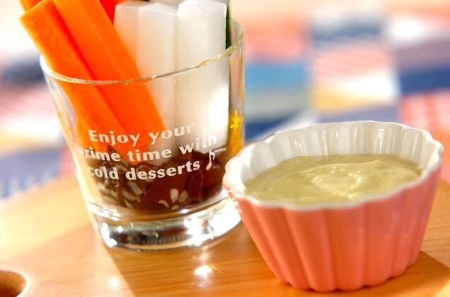 野菜スティックのディップソース13選!味噌やマヨで簡単アレンジ♪の画像