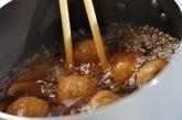 鶏団子のみぞれスープの作り方3