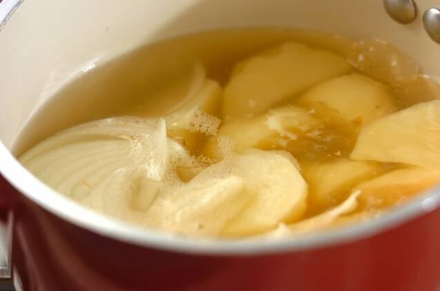 ジャガイモの煮物の作り方の手順3