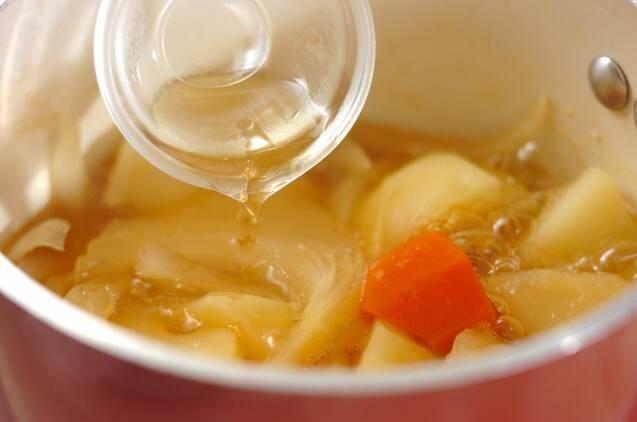 ジャガイモの煮物の作り方の手順4