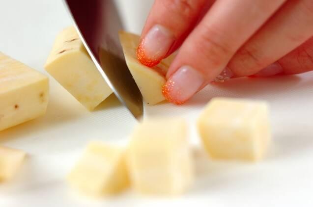 サツマイモサラダの作り方の手順1