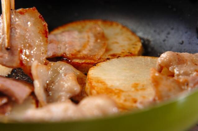ほっこり大根の炒め煮の作り方の手順3