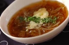 和風オニオンスープ