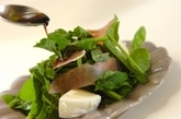 生ハムとルッコラのサラダの作り方2