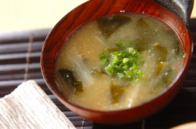2. 長芋のトロロお味噌汁