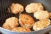 鶏肉のつくねバーグの作り方5