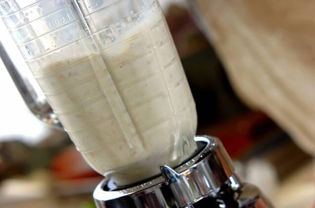 クルミ汁粉の作り方の手順3